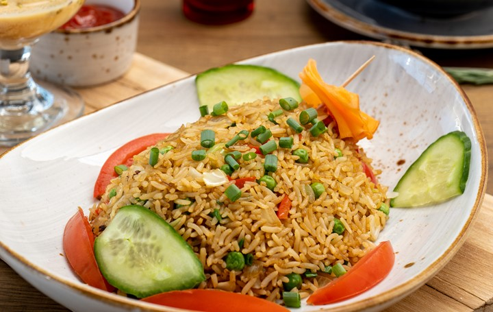 Fiji Style Veg Fried Rice