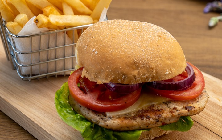 Pepper Chicken Burger